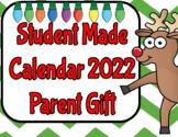 Student Made Calendar 2015 (Parent Gift)