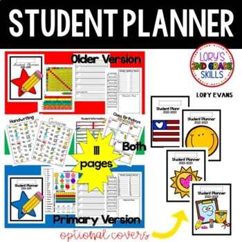 Student Planner - 2015  Older and Primary Version