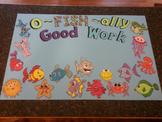 Fish (Cartoon) Student Work Display