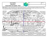 Power Point Lesson on Latitude and Longitude-The World-Stu