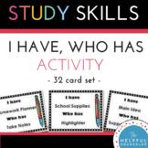 Study Skills: I Have...Who Has Listening Activity ~ Helpfu