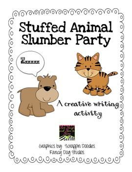 Stuffed Animal Slumber Party Pack