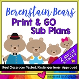 Sub Plans!  2 days of Activities & Projects to go w/ ANY B