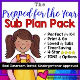 "Sub Plans! The ULTIMATE ""Prepared for the YEAR Pack!"""