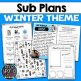 Sub Plans - Winter Theme