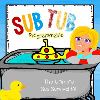 Sub Tub: For the Unexpected! Completely Programmable