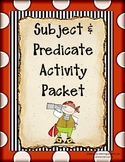 Subject and Predicate Activity Packet