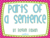 Subject and Predicate Activity and Game (Common Core: Lang