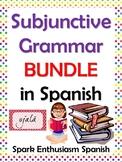 Subjunctive Grammar Packet in Spanish