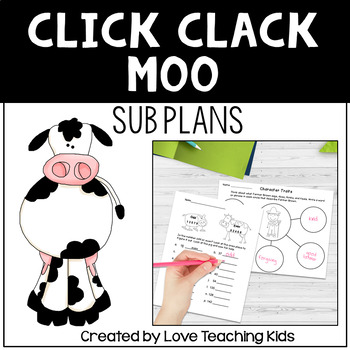 Sub Plans- Click, Clack, Moo Cows That Type