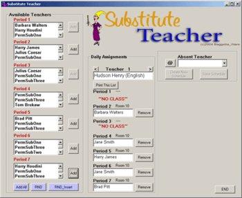 Substitute Teacher for Windows PC