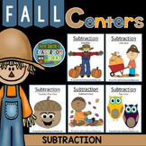 Fall - Subtraction - Center Games