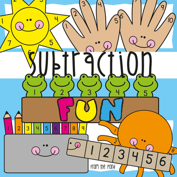 Subtraction Fun - Interactive Worksheets for Introducing Subtraction