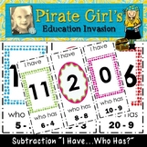 Subtraction Game (I Have..Who Has?)