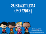 Subtraction Jeopardy! Second Grade Interactive PowerPoint Game