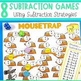 Subtraction Strategy Games - Eight Subtraction Strategies