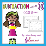 Subtraction Within 10 Practice Pages (30 Pages) / Common C