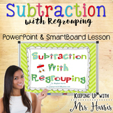 Subtraction with Regrouping Notebook
