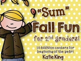 """""""Sum"""" Fall Fun for 2nd Graders"""