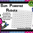 Sum Powered Robot Addition