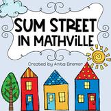 Sum Street in Mathville
