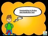 Super Summarizing  {Fiction and Nonfiction}