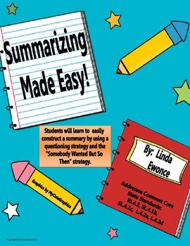 Summarizing Made Easy!