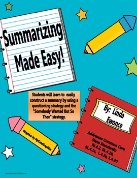 Summarizing Made Easy!