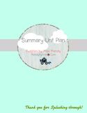 Summary Unit Plan - 3 Lessons