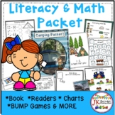 Camping Packet of Literacy and Math Activities {CCSS}