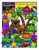 Summer Buddies {Creative Clips Digital Clipart}