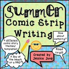 Summer Comic Strip Writing