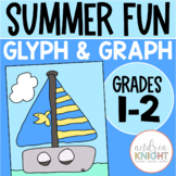 Summer Fun:  A GLYPH & GRAPH Math Activity for the End-of-