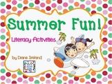 Summer Fun Literacy Activities