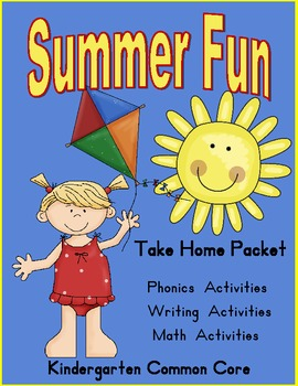 Summer Fun- Take Home Packet