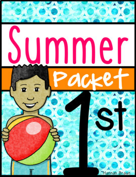Summer Packet 1st Grade