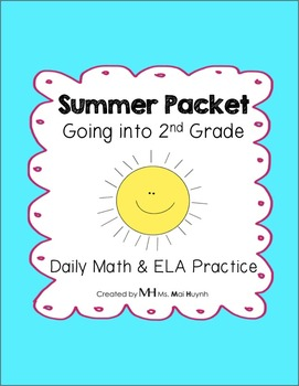 Summer Packet: Going into 2nd Grade
