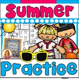 Summer Practice Packet (Kindergarten to First) Complete &