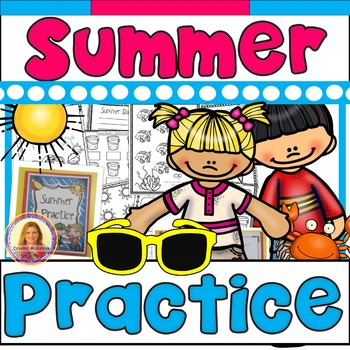 Summer Practice Packet (Kindergarten to First) Complete & Ready to Print