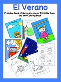 Summer Printable Book and Mini-Coloring Book {Spanish}