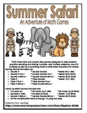 Summer Safari Math Games