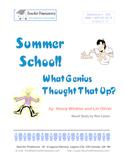 Summer School! What Genius Thought That Up? Hank Zipzer: G