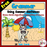 Grammar using Summer Sentences