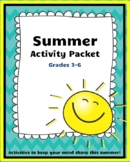 Summer Survival Kit (Grades 3-6)
