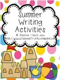 Summer Writing Activities {Activities to Keep Students Wri