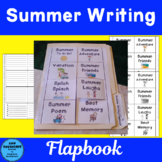 Summer Writing Flapbook