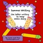 Summer Writing: Use letter writing to keep skills sharp