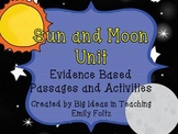 Sun and Moon Science Unit...Evidence Based Passsages, Expe