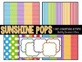 Sunshine Pops Set {Commerical Graphics}