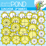 Sunshine Spinners Clipart